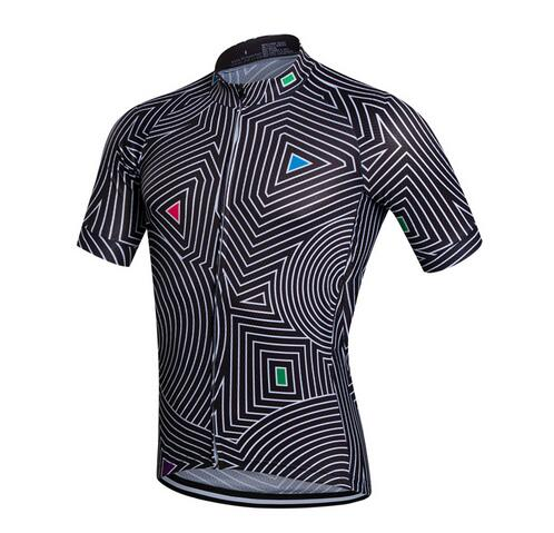FUALRNY Short-Sleeve Cycling Jerseys