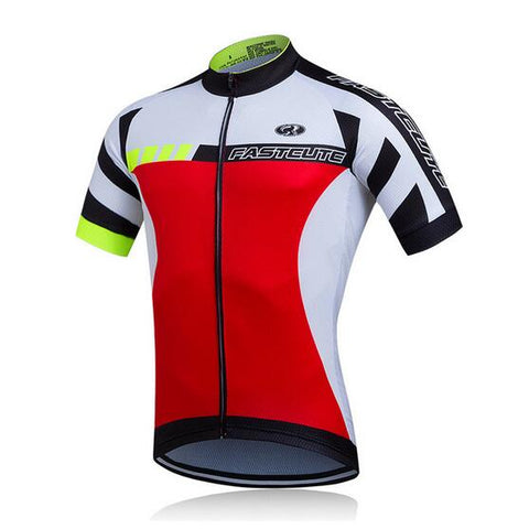 Image of FUALRNY Short-Sleeve Cycling Jerseys