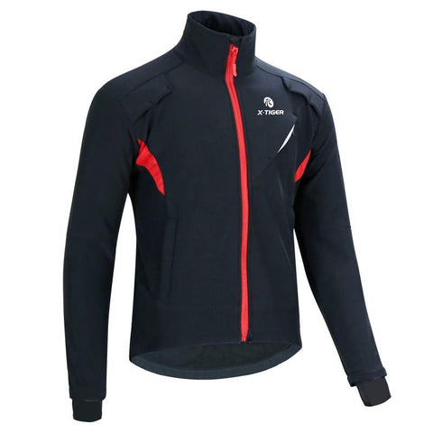 Image of X-TIGER Winter Fleece Thermal Cycling Jacket