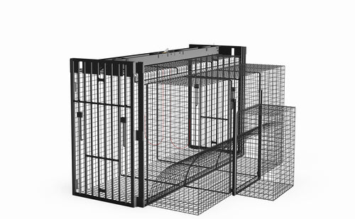 PRO 800 Deluxe Double Guillotine Door Wire Cage Trap
