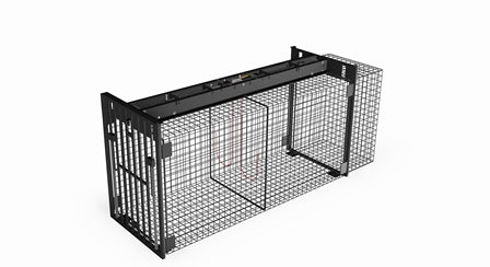 PRO 500 Double Guillotine Door Wire Cage Trap