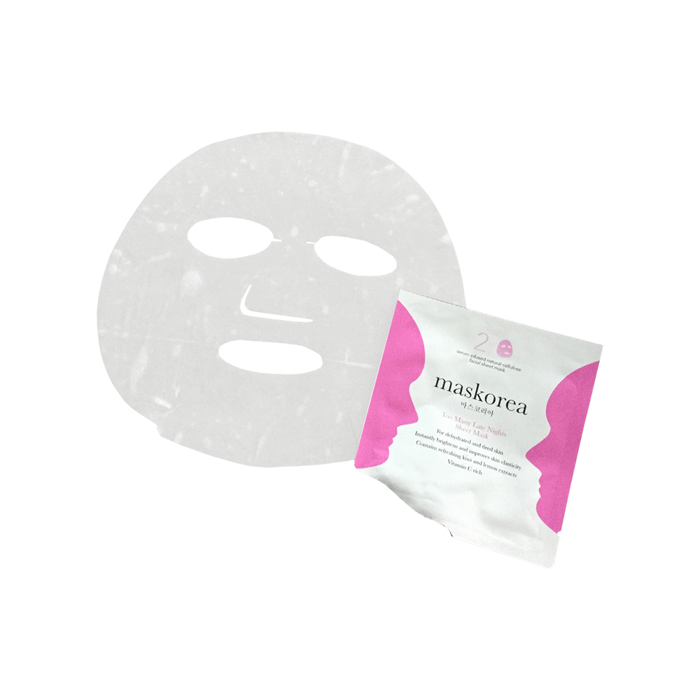 Too Many Late Nights Sheet Mask