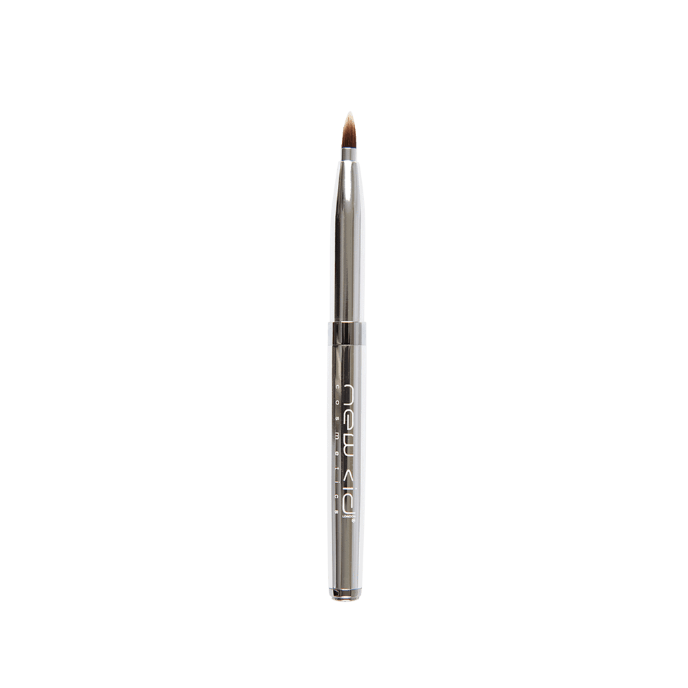 Chrome Retractable Lip Brush