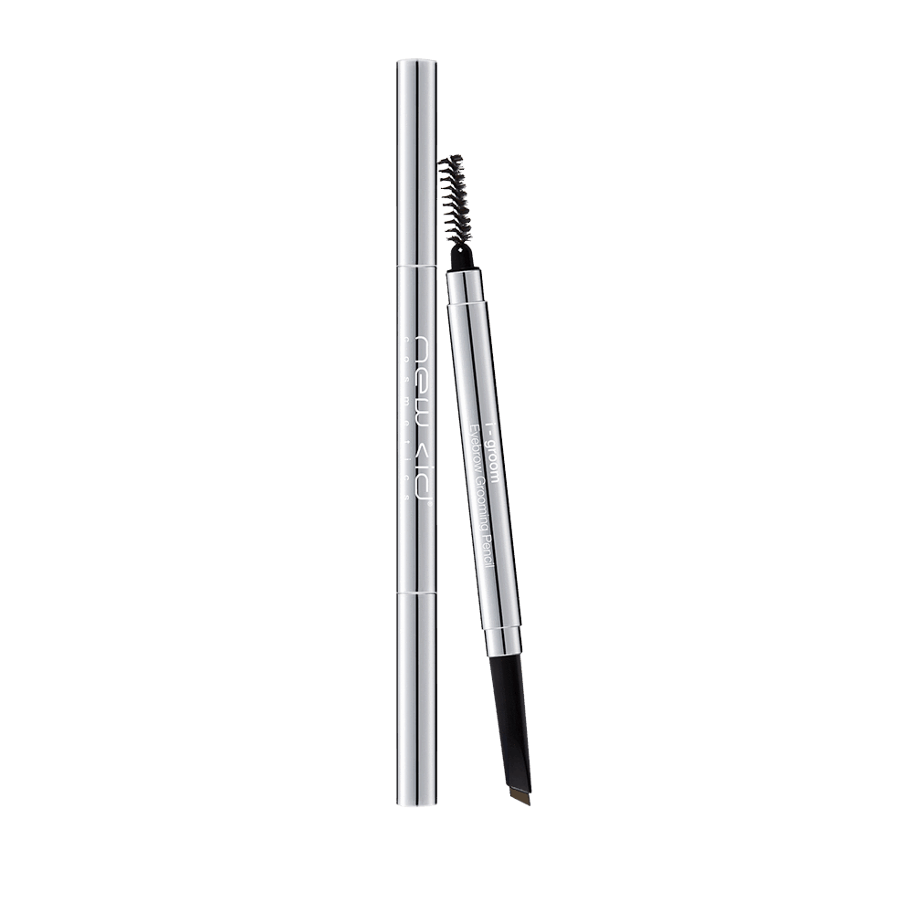 i-Groom Eyebrow Grooming Pencil and Brush - Neutral