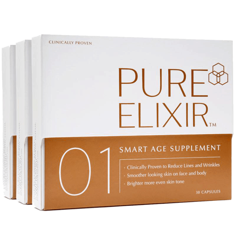 01 Smart Age Supplement (3 packs) - 90 caps