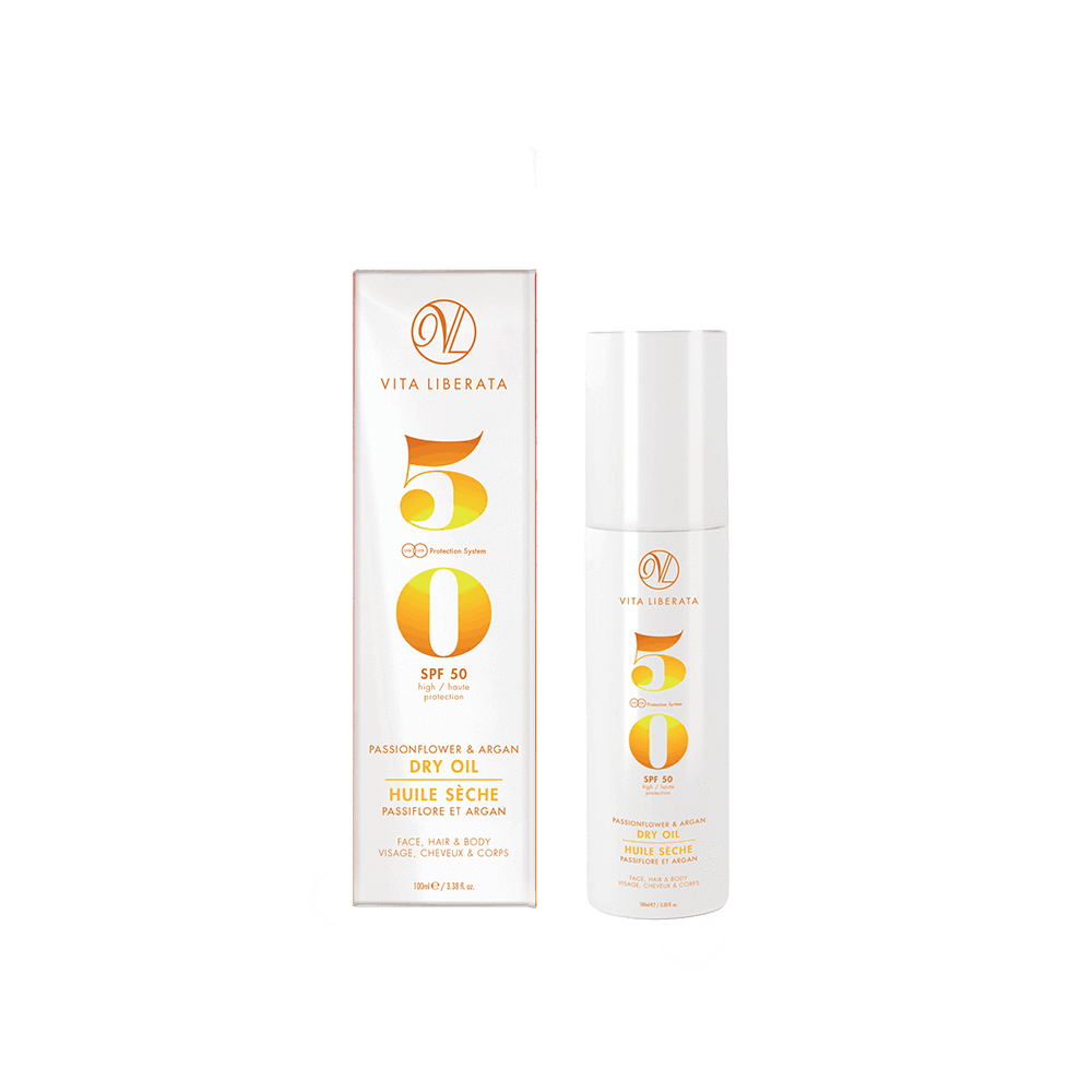 SPF50 Passionflower and Argan Dry Oil