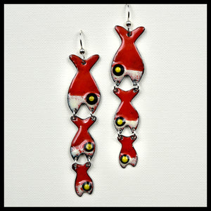 Fish Eat Fish Earrings
