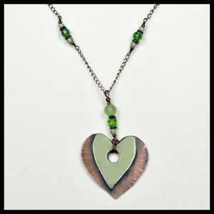 Heart of Kauai, Green Necklace