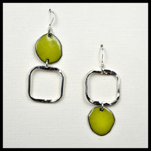 Lost in Shape Asymmetrical Square Earrings