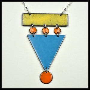 Mid Century Chic Downtown Necklace