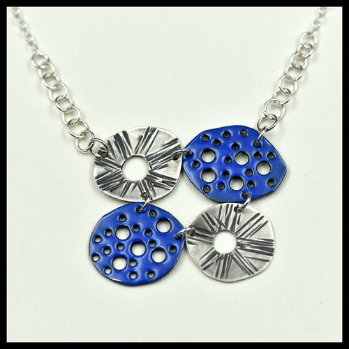 New Mexico Sun Necklace Yacht Blue