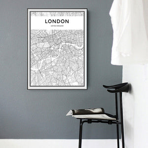 Canvas Wall Art - London