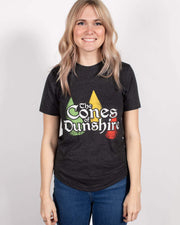 Cones of Dunshire Unisex Tee - United State of Indiana: Indiana-Made T-Shirts and Gifts