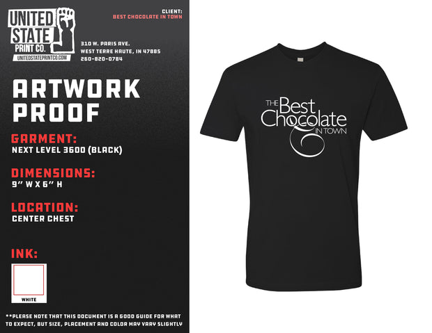 Best Chocolate In Town Tee