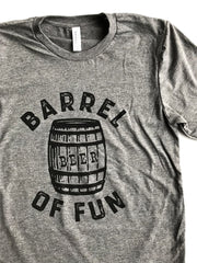 Barrel of Fun Tee - United State of Indiana: Indiana-Made T-Shirts and Gifts