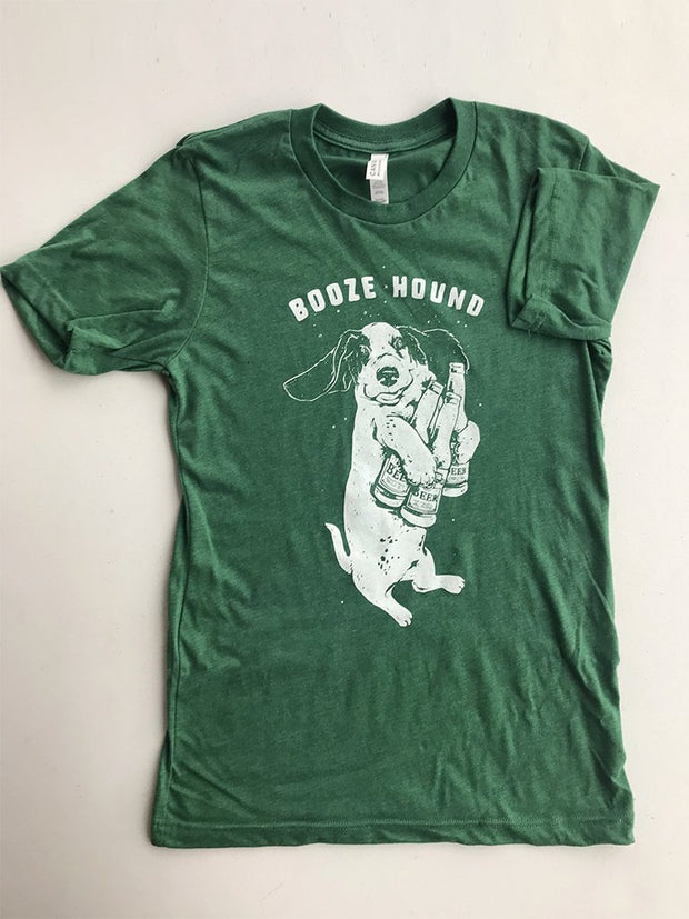 Booze Hound Tee - United State of Indiana: Indiana-Made T-Shirts and Gifts