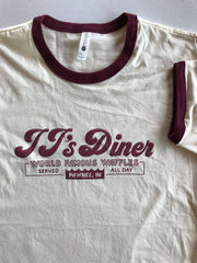 JJ's Diner Ringer Tee - United State of Indiana: Indiana-Made T-Shirts and Gifts