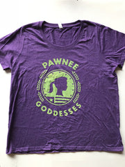 Pawnee Goddesses Women's Curvy Tee - United State of Indiana: Indiana-Made T-Shirts and Gifts
