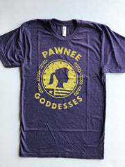 Pawnee Goddesses Unisex Tee - United State of Indiana: Indiana-Made T-Shirts and Gifts