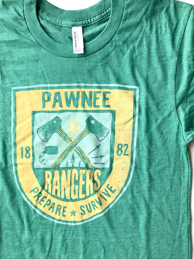 Pawnee Rangers Unisex Tee - United State of Indiana: Indiana-Made T-Shirts and Gifts