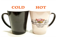 B&K heat sensitive coffee mug