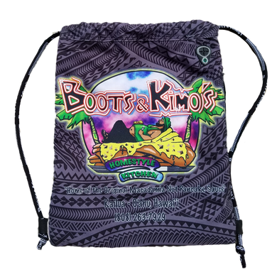 B&K drawstring backpack