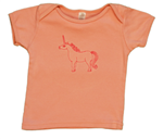 TwOOwls Unicorn Embroidery Baby Tee