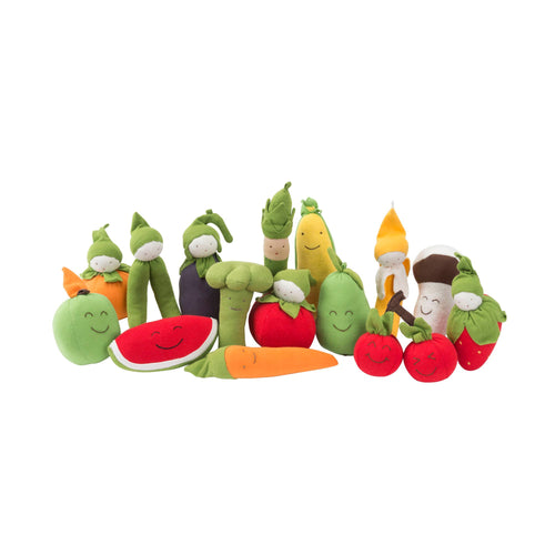 Under the Nile - Assorted Stuffed Fruits and Veggie Toys