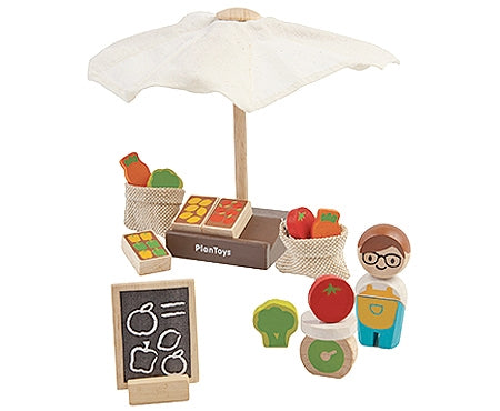 Market Stand Play Set