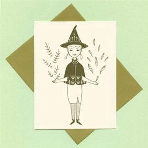 Hedge Witch Greeting Card