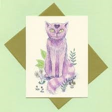 Cheshire Cat Card