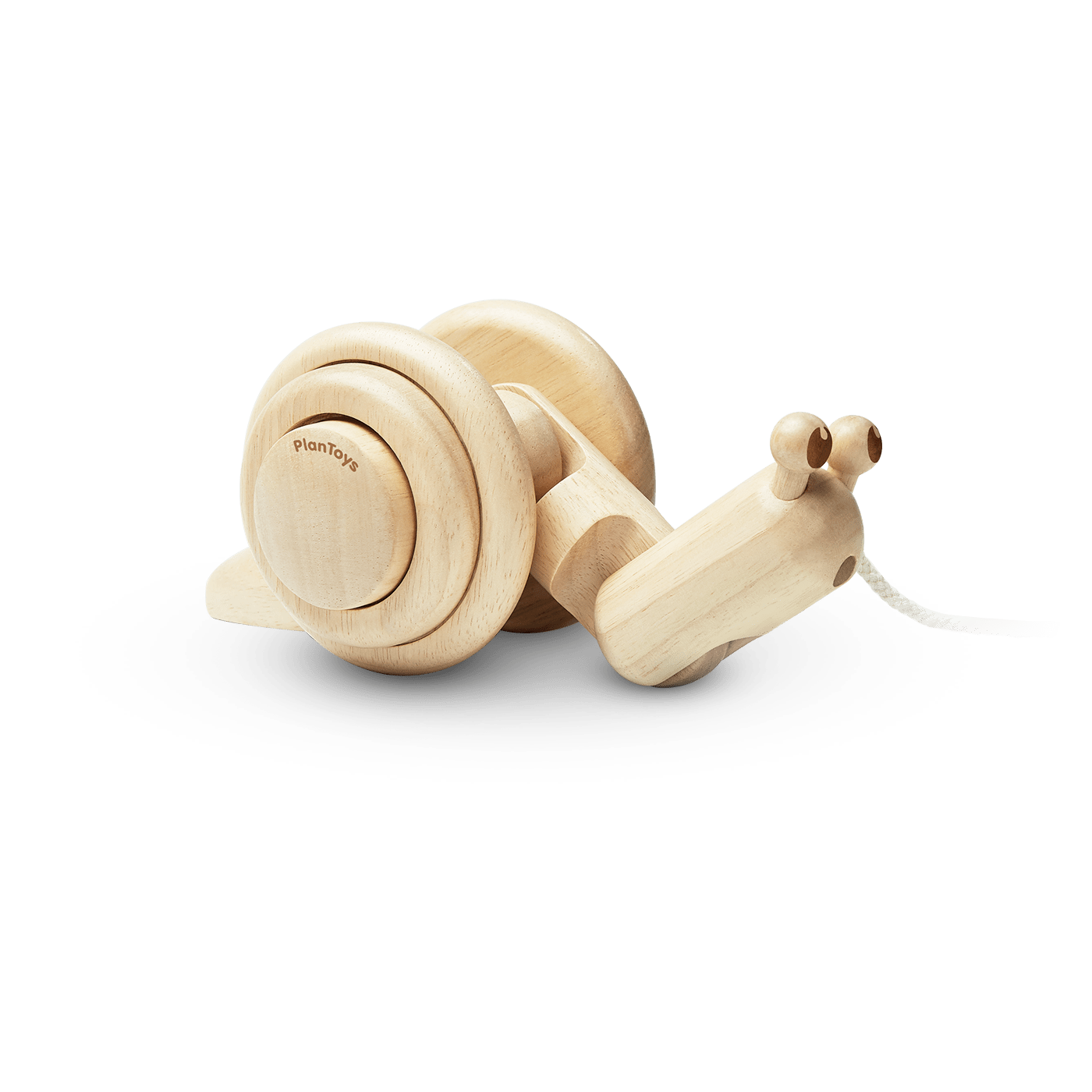 Pull-Along Snail Natural