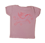 TwOOwls Pegasus and Star Embroidered Baby Tee