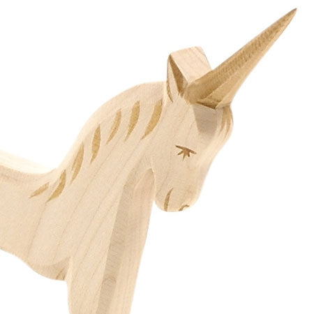 Wood Unicorn By Ostheimer