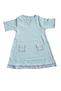 Blue Baby Tunic Pocket Dress