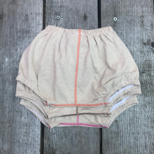 Color Grown Organic Cotton Baby Bloomers