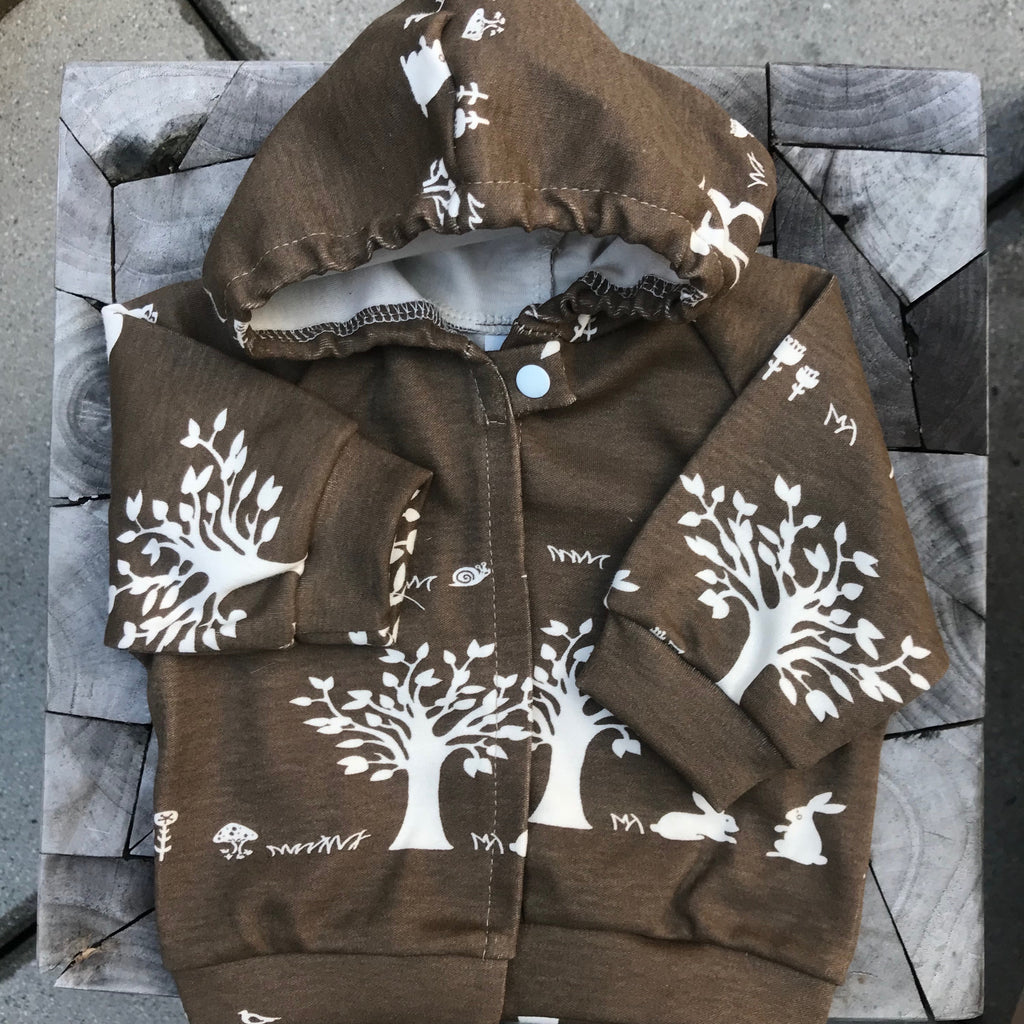 Organic Forest Baby Hoodie