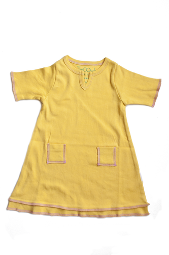 Marigold Baby Tunic Pocket Dress