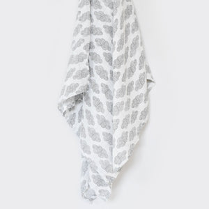 Organic Cotton Muslin Swaddle - Clouds