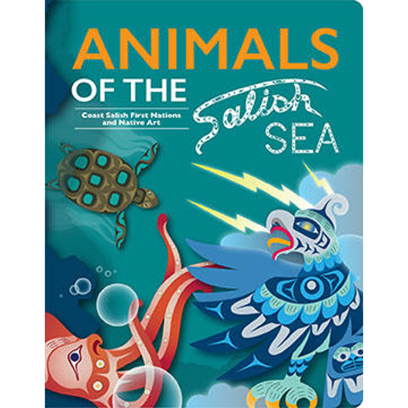 Animals of the Salish Sea Boardbook