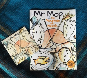 Mr Mop's Mountain of Muck book and CD Combo
