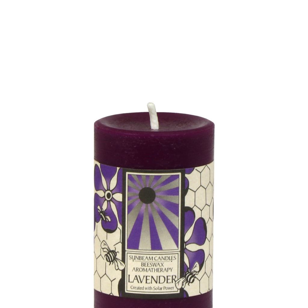 Beeswax Lavender Candle