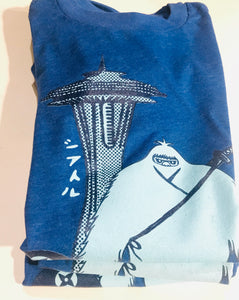 Yeti Space Needle Short Sleeve Tee