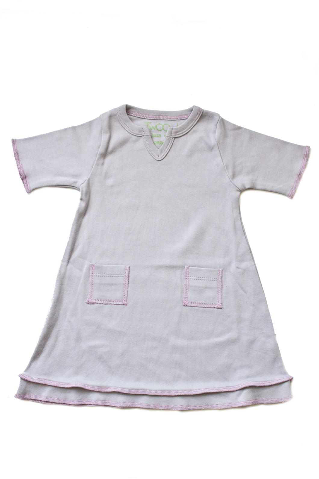 Organic Lavender Baby Tunic Dress