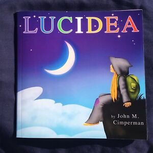 LUCIDEA Visionary Hippie Children's Book by John Cimperman