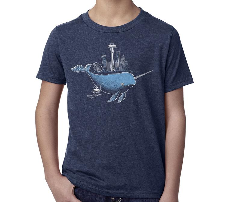 Narwhal Short Sleeve Tee