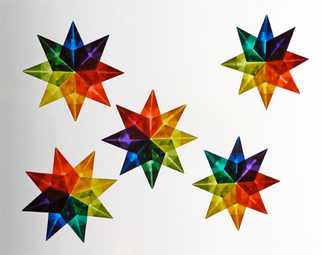 Kite Paper for Window Stars or Scenes
