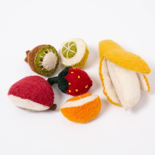 Wool Fruit Set