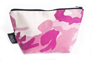 TwOOwls Pink Camo accessories bag -One size-Made in the USA