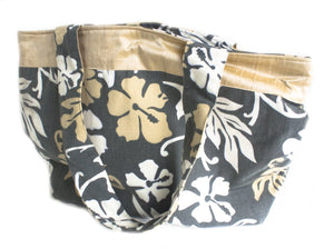 TwOOwls Champagne Hawaiian large bag with Champagne silk-One size-Made in the USA